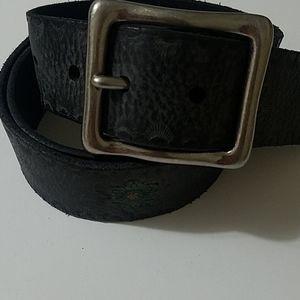 Levi women's leather vintage belt